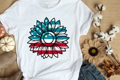 4th of July SVG PNG DXF EPS Patriotic Sunflowers SVG Bundle Product Image 2