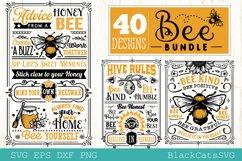 Bee Bundle SVG 40 designs Product Image 6