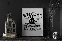 Vintage Halloween Signs Decor svg - halloween svg files png Product Image 3