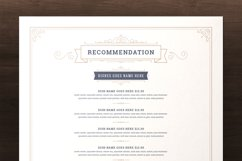 Restaurant Menu Template and Logo Product Image 2