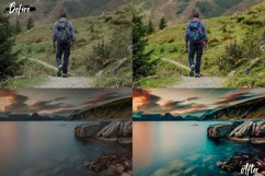 25 Landscape Photoshop Actions, ACR and LUT Presets Product Image 6