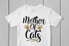 Mother Of Cats - Mother SVG EPS DXF PNG Cutting Files Product Image 3