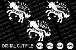 Unicorn Mama, Mother's Day Gift Shirt, Unicorn Svg Bundle Product Image 2