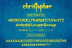 christopher-display font and texture version Product Image 3