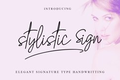 Stylistic Sign Product Image 1