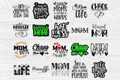Mom Signs SVG Bundle, Funny Mom Shirt, Svg Cut Files Cricut Product Image 6