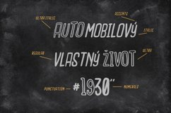 Outcast Motofont Product Image 5