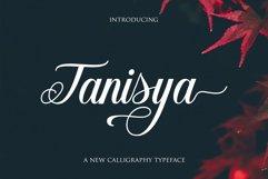 Tanisya Script Product Image 1
