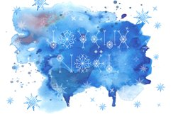 Let It Snow | A Winter Display Font Product Image 5