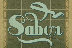 Sabor (PROMOTIONAL PACK) Product Image 1