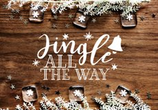 Funny Christmas Phrases SVG Cut File Bundle Product Image 6