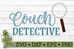 Couch Detective SVG Cut File Product Image 2