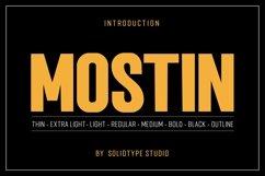 Mostin Typeface Product Image 1