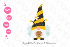 Cute Bumble Bee Gnomes svg | Gnomes Honey png| svg png dxf Product Image 4