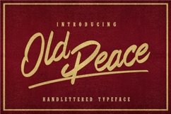 Web Font Old Peace Product Image 2