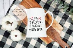 Farmhouse Milk Jug Flatlay Craft Mockups JPEG Styled Photo Product Image 4