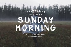 Sunday Morning - Title