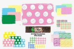 Easter Background Spring Bundle Dye Sublimation PNG Product Image 1