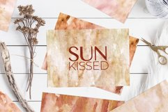 20 Seamless Watercolor Textures - Burnt Orange Backgrounds Product Image 5
