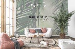 Wall mockup - Interior mockup - Wallpaper mockup Product Image 5