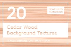 20 Cedar Wood Background Textures Product Image 1