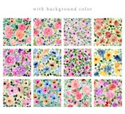 4 in 1 - Floral Watercolor Graphic Bundle Product Image 3