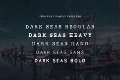 Dark Seas | A Salty Font Family Product Image 2