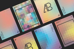 Pixelated Printable Backgrounds & Photoshop Layer Styles Product Image 4