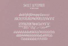 Handwritten font - Sweet September Product Image 6