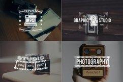 Vintage Photography SVG Bundle Photographer Logos Silhouette Product Image 4