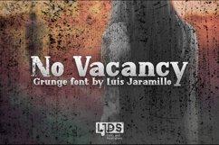 No Vacancy Grunge Product Image 1