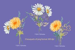 set of watercolor bouquets of flowers Product Image 2