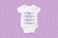 My Star - a font written in the stars Product Image 2