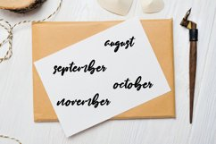 Month Stickers, Bullet Journal Stickers Product Image 3