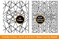 Geometric Coloring Pages - PDF,PNG, JPG files. Printable Product Image 6