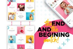 Colorful Instagram Puzzle Template for Canva Product Image 7