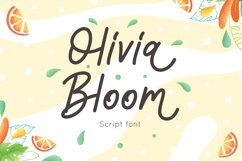 Olivia Bloom - Summer Font Product Image 1