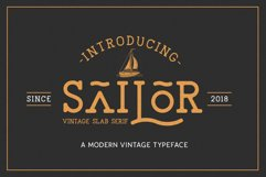 The Sailor Typeface Product Image 1