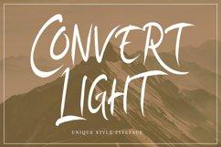 Convert Light | Unique Typeface Product Image 1
