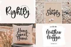 Modern Farmhouse Font Bundle - Fonts for Crafters Product Image 3