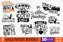 Halloween Bundle 10 designs SVG EPS DXF PNG Product Image 1