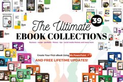 UPDATES! 39 eBooks Bundle Template PowerPoint Presentation Product Image 1