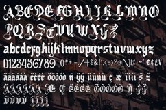 Nightingale - Medieval Font Product Image 2