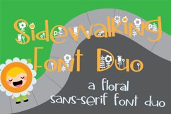 Sidewalking Font Duo Product Image 1