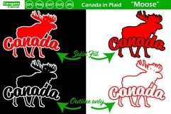 Canada in Plaid - Moose Product Image 2
