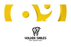Golden Smiles - Dental Care Clinic Stock Logo Template Product Image 3