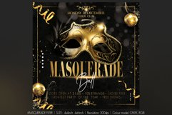 Masquerade Flyer Product Image 1