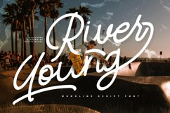 River Young | Monoline Script Font Product Image 1