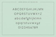 Adagio Decorative Ligature Font Duo Product Image 6