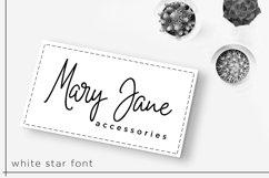 White Star- Chic Handwritten font Product Image 6